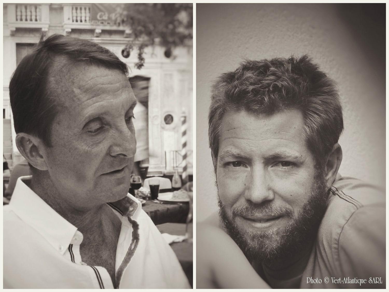 Portraits de Franck MUSCH et Romain ROGÉ, Paysagistes