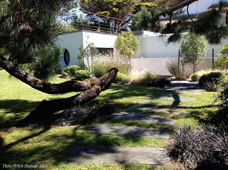 Nos r alisations galerie photos vert atlantique for Pin jardin japonais