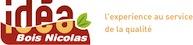 Logo société Idéa bois Nicolas