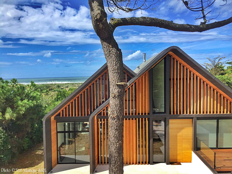 Villa dessinée par Odin, Chiberta, Anglet, Pays Basque