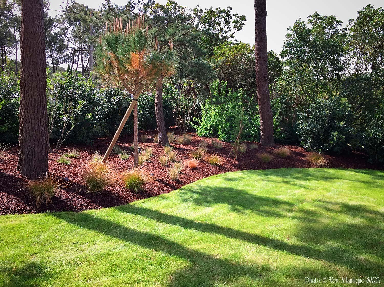Nos r alisations galerie photos vert atlantique for Entretien jardin bayonne